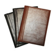 Glazed Italian-Style Leather Journals